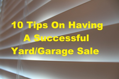 10 Tips Yard Garage Sale