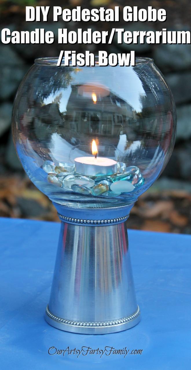 DIY Pedestal Globe 3