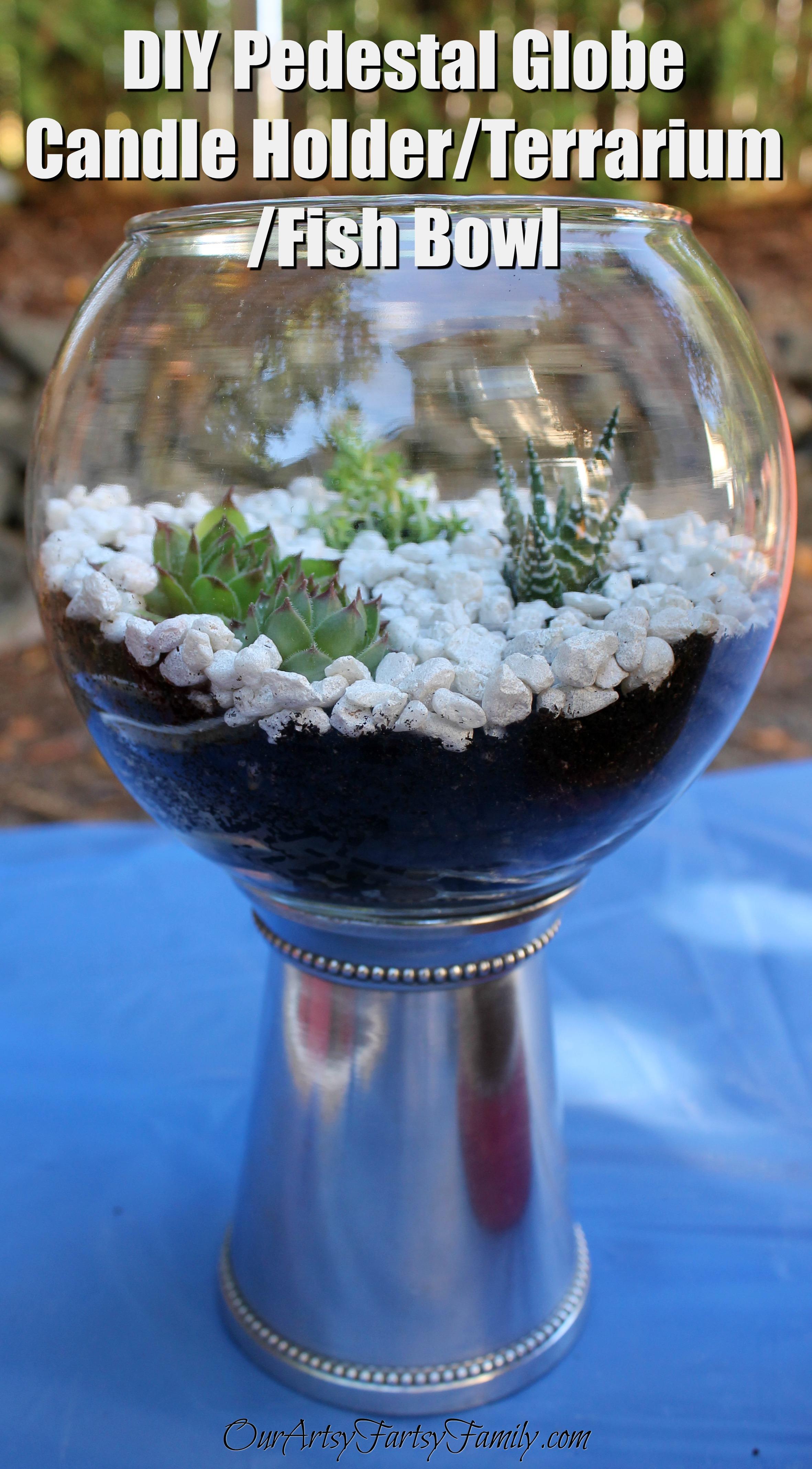 DIY Pedestal Globe 4